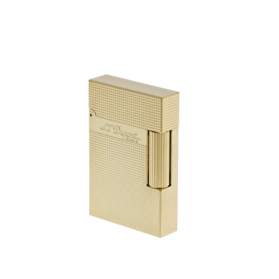 S.T.Dupont Ligne 2 Klein (Mikrodiamantenspitze Gelbgold)