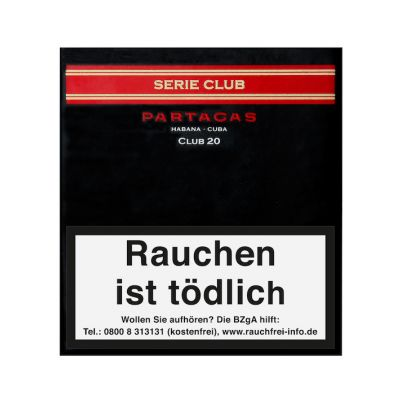 Partagas Serie Club (20er Pack)