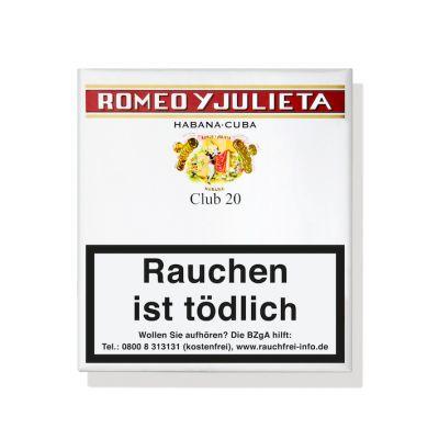 Romeo y Julieta Club (20er Pack)