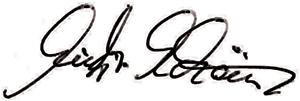 Unterschrift Schäuble
